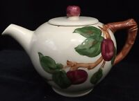 Vintage Hand-Decorated Franciscan Apple CALIFORNIA Teapot (RF-FR12)