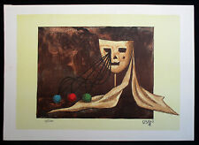 """1976 Limited Edition Lithograph  """"Song of Songs""""  Hand Signed - Kedar Dan"""
