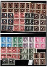 Yugoslavia-SHS Bosnia lot stamps to 10kr MNH