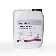 DMSO 99,9%, 5 Liter, Dimethylsulfoxid 5 Liter in HDPE Kanister reinst neu