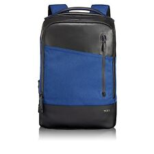 Tumi 79810 Tahoe Lyons Backpack Blue Black Casual Business Brief Pack Laptop Bag