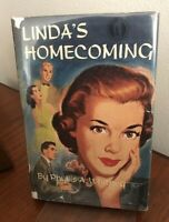 "Phyllis A. Whitney LINDA'S HOMECOMING teen ""malt shop"" classic YA hardcover w DJ"