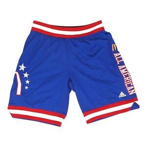 NCAA Adidas Men's Blue McDonald's All-American Games Shorts