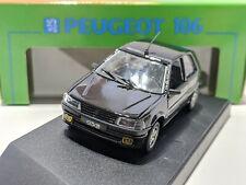 Peugeot 106 Phase 1 XSi Black 1/43 VITESSE Rare