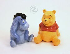 Winnie The Pooh Eyeore Figurines Salt Pepper Shakers Disney Dinnerware Ceramic