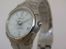 Seiko watch stainless steel kinetic movement 5J22 SMA013