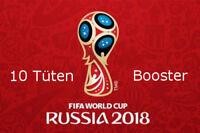 Panini WM 2018 Russia World Cup Sticker 10 Tüten Booster NEU OVP Vorverkauf