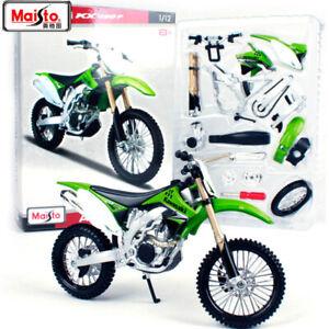 Maisto MX Kawasaki KX450F Assembly Line Toy Motocycle Model Kit 1:12