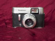 Voigtlander Vito C 35mm film camera with Voigtlander Lanthar 50mm 2.8 lens