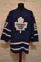 Shayne Corson #27 vintage Toronto Maple Leafs KOHO blue NHL jersey mens XL