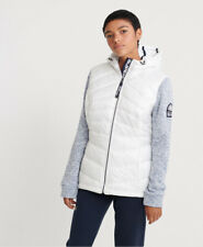 Superdry Womens Storm Panel Quilted Hybrid Jacket