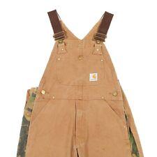 CARHARTT Chore Overalls | Dungarees Bib Workwear Vintage Canvas Work Wear USA