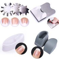 Easy Nail Art Edge Cutter French Line Nail Art Guid Stencil Trimmer Nails Tools
