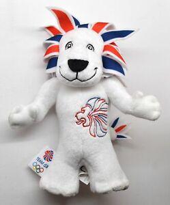 Pride the Lion Team Great Britain Mascot Plush