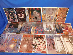 2008 AVATAR CROSSED 0 1-9 Complete Set Red Crossed & Auxiliary Variants Lot