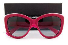 Brand New Dolce & Gabbana Sunglasses 4206 2766/8G RED/PINK for Women