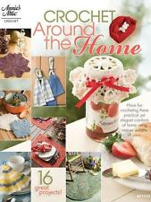 Annies Crochet Around the Home (2010, Paperback) Crochet Patterns Book ~ New