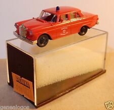 MICRO BREKINA HO 1/87 MERCEDES BENZ 190 POMPIERS FRIBOURG IN BOX