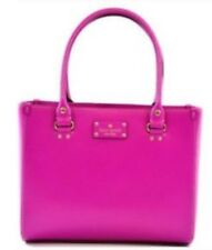 KATE SPADE Auth $398 Women's Pink Leather Wellesley Quinn Satchel Bag