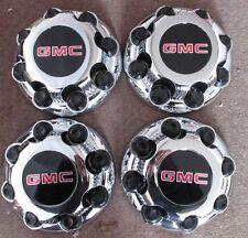 8 LUG GMC CHROME CENTER CAPS FOR GEN MOTORS STEEL & CHROME WHEEL 15052380  OEM
