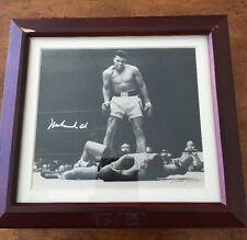 Muhammad Ali Swatch Watch And Autograph