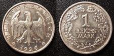 Allemagne - République de Weimar - 1 Reichsmark 1926 A, Berlin Qualité ! KM#44