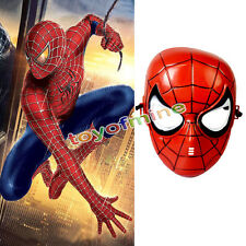 Superhero Kids Children spider man Avenger Costume Mask Halloween Party Toy