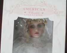 "Cracker Barrell American Classics ""Susan Michelle""  Bride Doll"