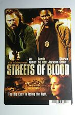 STREETS OF BLOOD KILMER 50 CENT STONE ART MINI POSTER BACKER CARD (NOT a movie)
