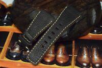 UHRENARMBAND LEDER VINTAGE BRAUN BAND MA STRAP FITS BELL ROSS BR 01+ 03 BUBBO II