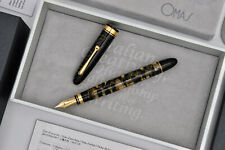 OMAS Ogiva Lucens Black Celluloid Novelli Limited Edition Fountain Pen 11/30 F