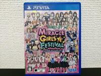 USED PSV Miracle Girls Festival PS Vita JAPAN Import PlayStation Vita