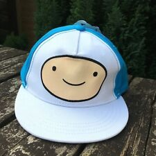 Official CN Adventure Time Finn Big Face Adjustable Cap Junior 6 - 12 Yrs D443