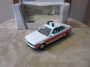 Schabak 1/43 Scale 1150 - BMW 535i Fire Car - Notruf 112 diecast police car