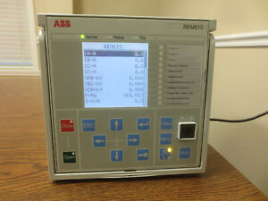 ABB REM615 Motor Protection Relay