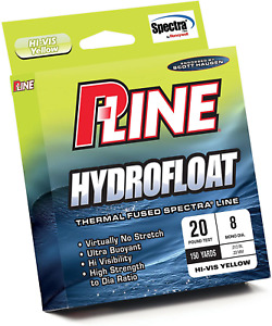 P-Line Hydrofloat Float Fishing Line 150 YD Filler Spool 30-Pound Visibility New