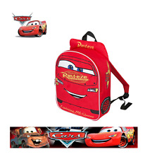 Official Disney Pixar Cars 3 Embroiderd Plush Front Backpack Holidays School