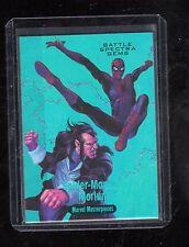 2016 Marvel Masterpieces  Joe Jusko BS-4 Battle Spectra Gems card 25/99
