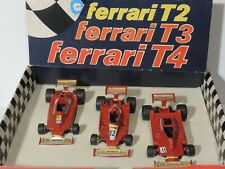 Set 3 Yaxon 1:43 - Ferrari 312 T2 T3 T4 - F1 1977 78 79 - Made in Italy - Rare