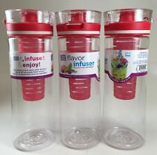 Cool Gear Flavor Infuser - 3 Pack Red