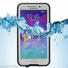 Custodia Impermeabile Bianca Antiurto Samsung Galaxy Note 5 Waterproof Cover