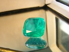 13 CTS  LAB STONE DOUBLETS QUARTZ MAN MADE EMERALDS CUSHION  square 14x14 MM