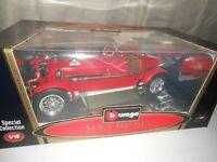 Burago 1931 Alfa Romeo 8C  Monza Red 1:18 Scale Diecast