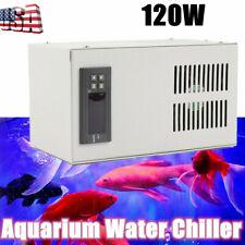 120W 30L Aquarium Water Chiller Fish Shrimp Tank Cooler Cooling Machine us ship
