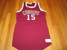 VTG RUSSELL ATHLETIC 70's MADISON COUNTY HIGH SCHOOL FL BASKETBALL JERSEY SIZE L
