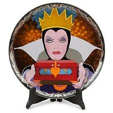 New Disney Store EVIL QUEEN Snow White Limited Edition 1000 Collectors Art Plate