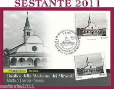 ITALIA MAXIMUM MAXI CARD 2010 BASILICA MADONNA MIRACOLI MOTTA DI LIVENZA  A208