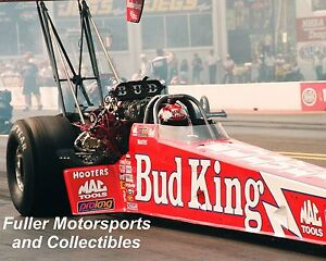 KENNY BERNSTEIN BUD KING NHRA TOP FUEL 1996 8X10 PHOTO BUDWEISER DRAGSTER
