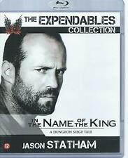BLUE RAY - IN THE NAME OF THE KING  - JASON STATHAM (EXPENDABLES) ENGLISH / NL