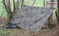 TACGEAR Esercito Tedesco Flecktarn Telo Basha Biwakplane Telone Reversibile
